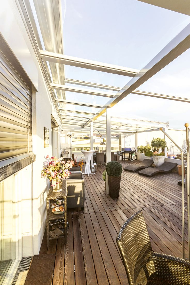 17 terbaik ide tentang terrassenverglasung di pinterest glasdach terrasse glasdach dan. Black Bedroom Furniture Sets. Home Design Ideas