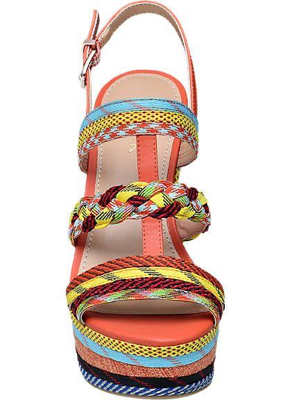 Keil Sandalette von Catwalk in orange - deichmann.com