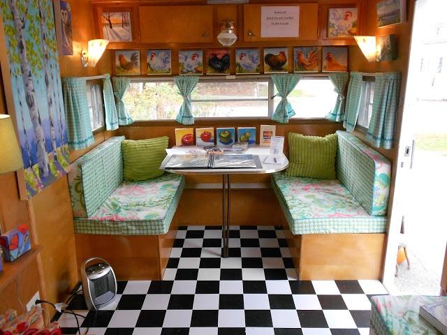 Happy Camper Mobile Art Gallery PHOTOS vintage travel