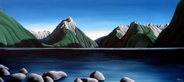 Mitre Peak by Diana Adams