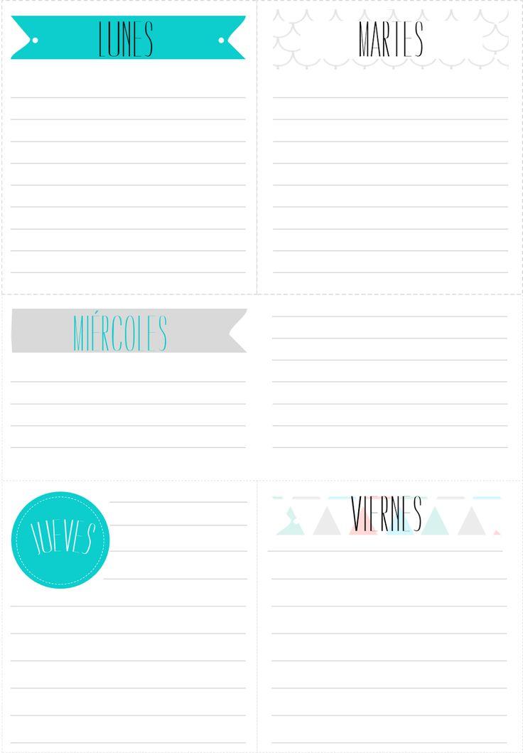 17 mejores ideas sobre almanaques para imprimir en for La caja sucursales horarios