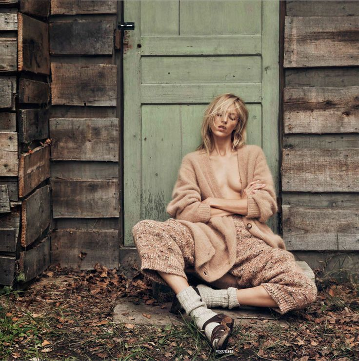 Vogue Paris by Géraldine Saglio – what's not to like?!  Featuring Anja Rubik by Lachlan Bailey