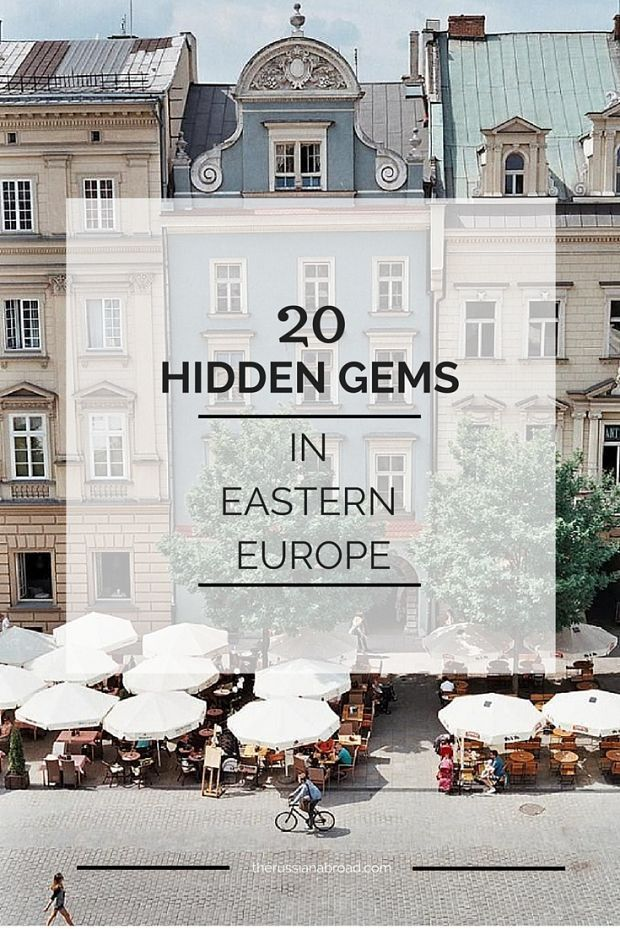 What are Eastern Europe's most precious cities?