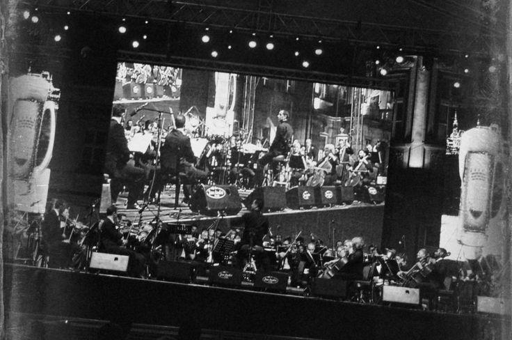 #Zrenjanin - leto 2015 - #koncert #Filharmonije na trgu #crnobela #nagybecskerek #zrenjaninskaFilharmonija