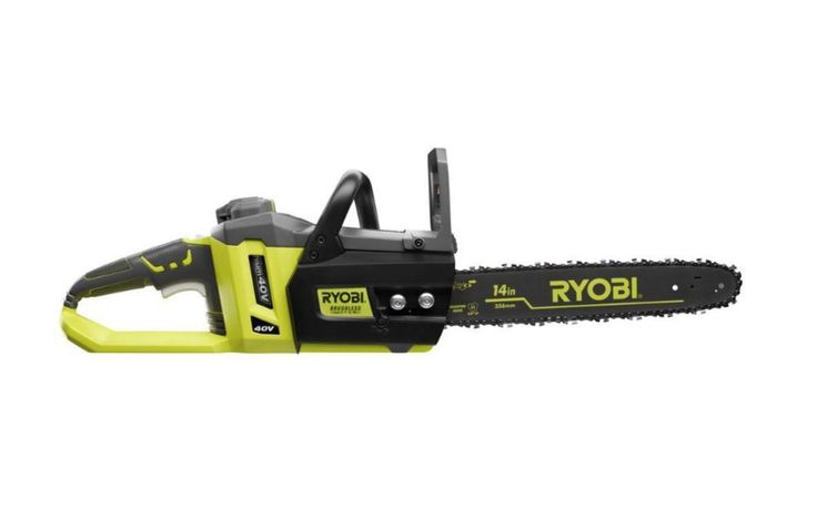 """14"""" 40-V Brushless Cordless Battery Chainsaw Cutting Timber Sawing Electric Saw"""