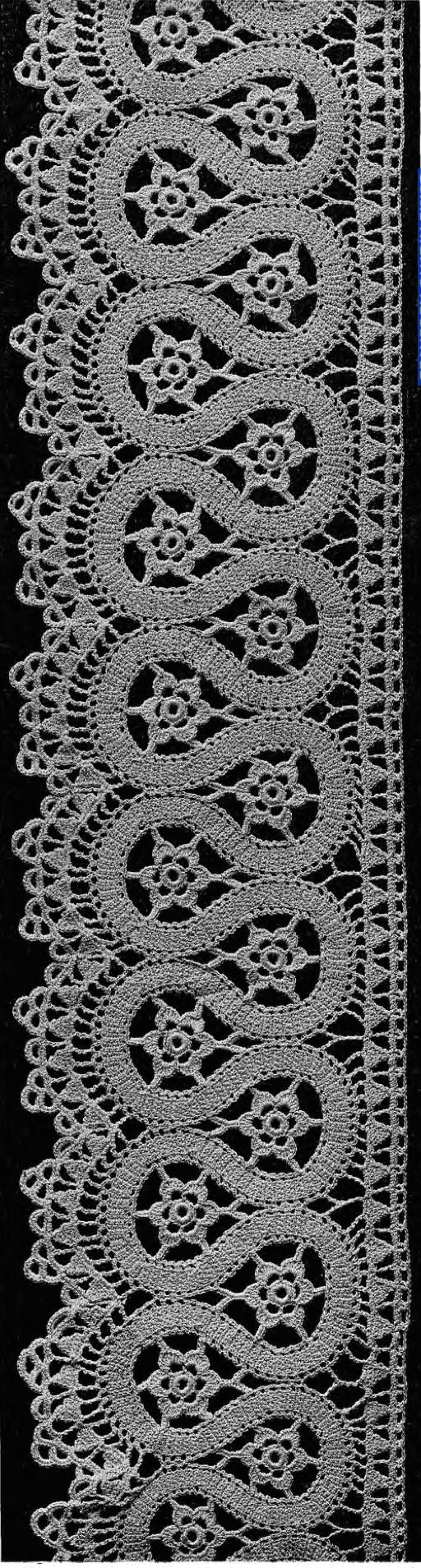 Crochet Lace - booklet in the public domain from Madame Hardouin from the Antique Pattern Library