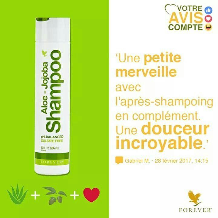 🎀🎀🎀 De l'Aloe Vera (39,5% - Certifiée IASC) + de l'huile de Jojoba et beaucoup d'Amouuuuuur ! <3 #AloeJojobaShampoo #foreverlivingfrance #aloevera #Jojoba