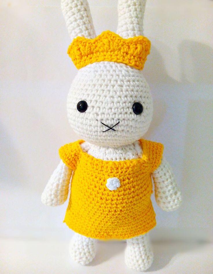 crochet Miffy, szydełkowa Miffy