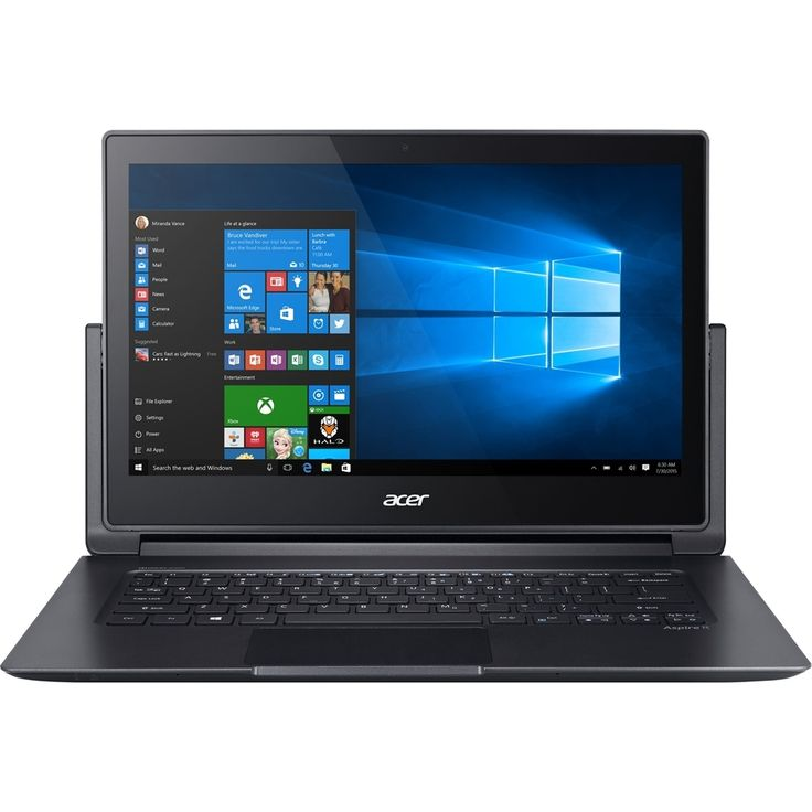 """Acer - Aspire 2-in-1 13.3"""" Touch-Screen Laptop - Intel Core i5 - 8GB Memory - 256GB Solid State Drive - Gray"""
