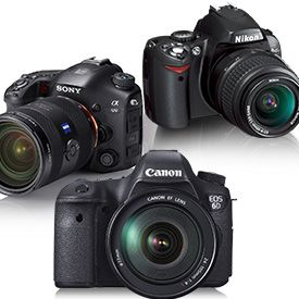 The Best Full-Frame DSLRs Canon EOS 6D & Nikon D600 are the editor's choices.