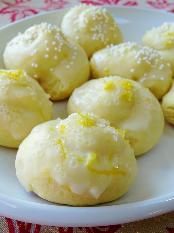 Anginetti, Italian Lemon Knot Cookies