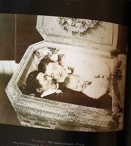 Book of Victorian post-mortem photography: http://www.cultofweird.com/books/beyond-the-dark-veil/