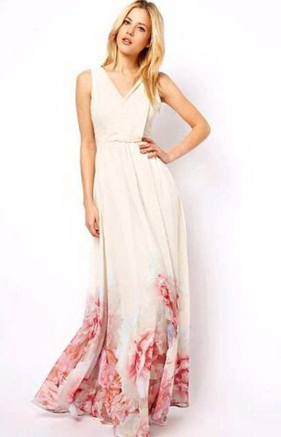 20 Beautiful Maxi Dress Wedding Guest
