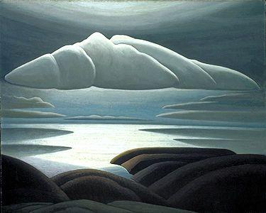 Clouds, Lake Superior. Lawren Harris