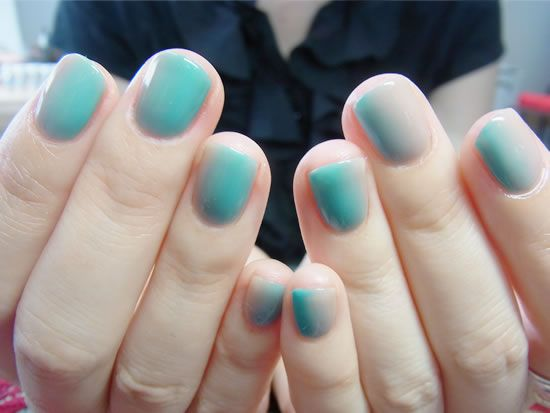 NAIL-COMMON: Double Gradation nail