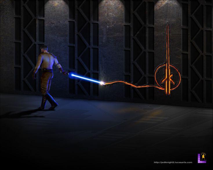 #JediKnight Game via reddit user BioshockedBeans