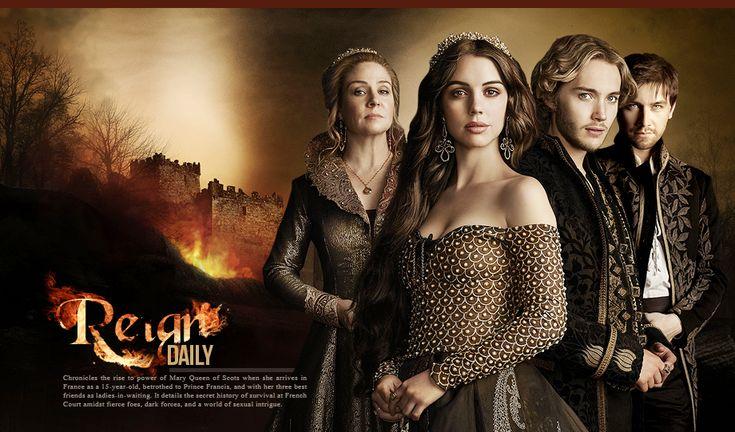 Ascunsa între filele cartilor de istorie ne este data povestea tinerei femei Mary Stuart, stiuta drept Maria, regina Scotiei. Adolescenta Mary este deja un monarh încapatanat - frumoasa, pasionata, si gata chiar de la nasterea ei la tumultoasa putere.