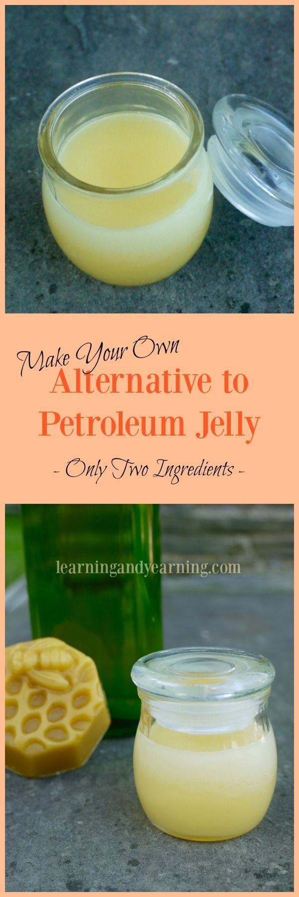 If you're looking for an alternative to petroleum jelly, it couldn't be easier…