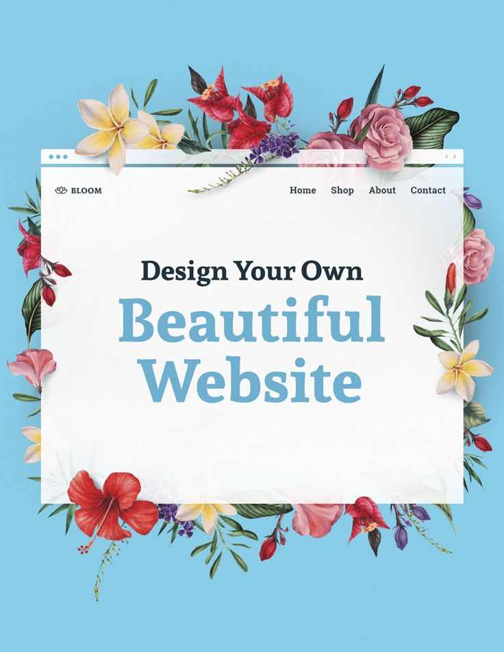 Create a website for any kind of business today.