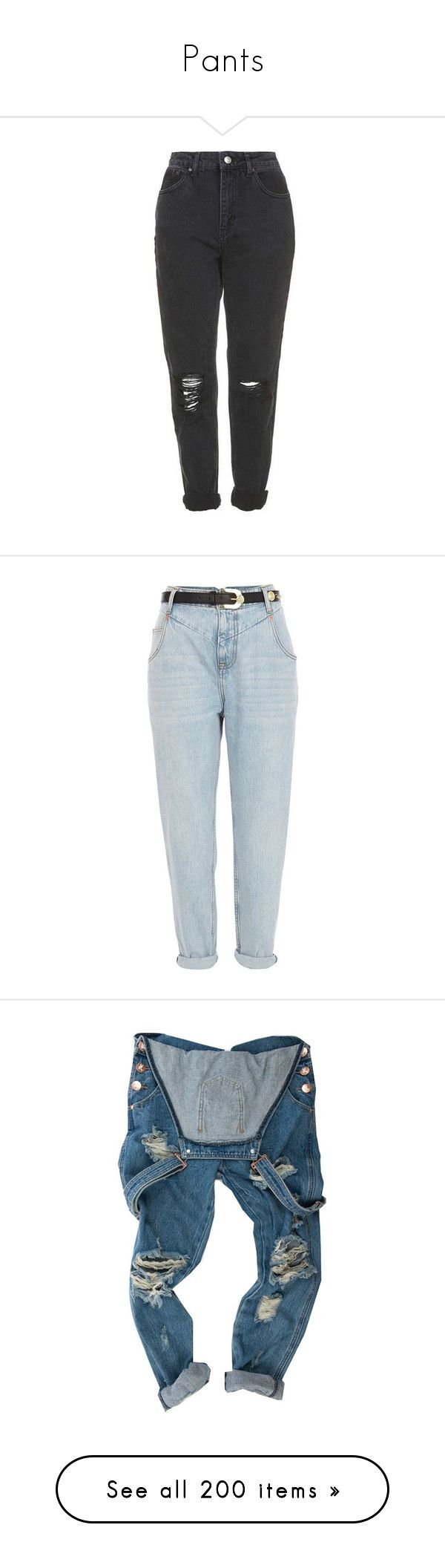 """""""Pants"""" by ginga-ninja ❤ liked on Polyvore featuring jeans, pants, bottoms, calças, sale, river island jeans, zipper jeans, rolled jeans, light wash jeans and rolled up jeans"""
