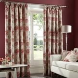 Red Rosa Curtain Collection  #pinittowinit #dunelm
