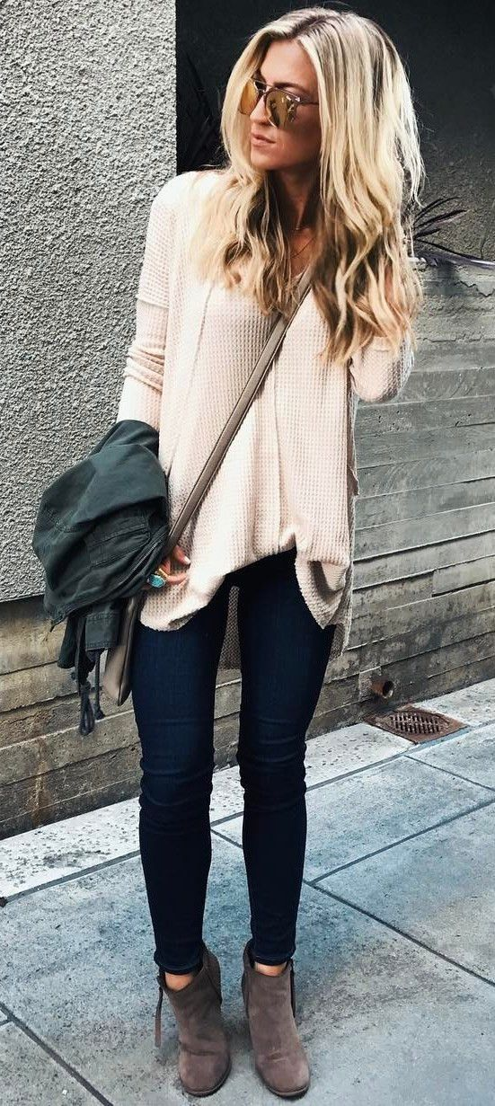 sweater + bag + skinny jeans + boots http://www.99wtf.net/men/mens-fasion/latest-mens-suit-style-fashion-2016/