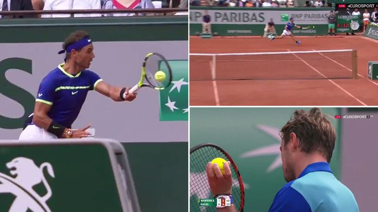 Roland Garros 2017: La 'marcianada' imposible de Nadal que hasta Wawrinka aplaudió en la final de Roland Garros | http://www.marca.com/tenis/roland-garros/2017/06/11/593d5c16ca4741cd288b4671.html