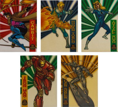 1994 Fleer Marvel Universe SeriesV New Complete 10Card Suspended Animation Chase Set *** Continue to the product at the image link.