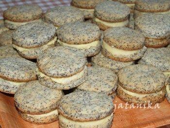 Makové koláčiky s citrónovým krémom (fotorecept) - obrázok 8