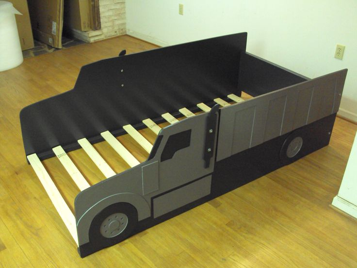 38 best images about kids rooms on pinterest tractor bed ana white and construction - Dump truck twin bed ...