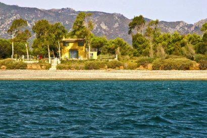 Beach and House syd Sardinia