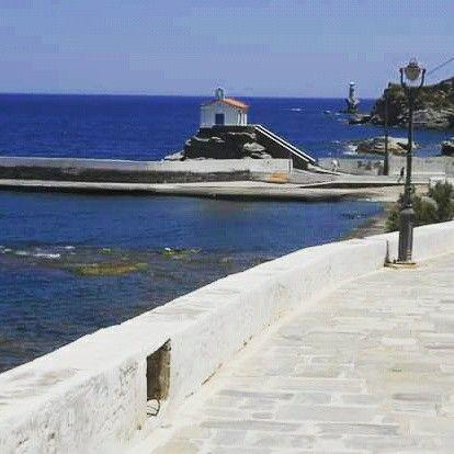 Παναγία Θαλασσινή, Άνδρος Andros, Chora
