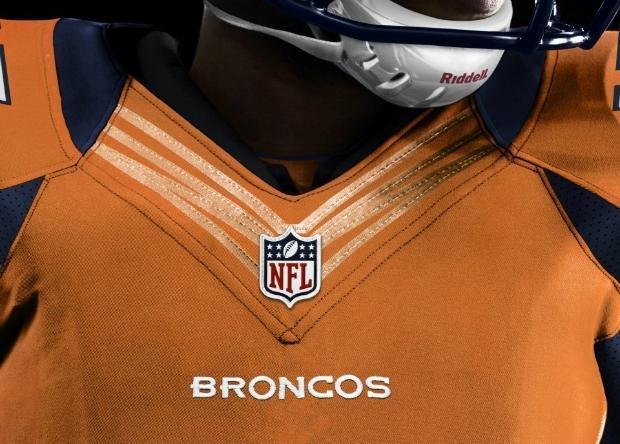 Broncos new Nike uniforms unveiled!