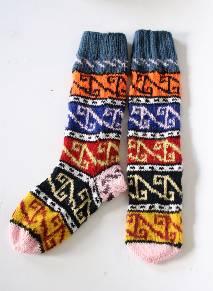 Handmade Turkish Wooly Long Socks