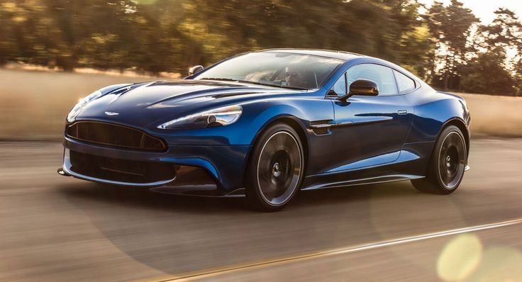 Aston Martin Debuts Vanquish S With More Power And Better Aero