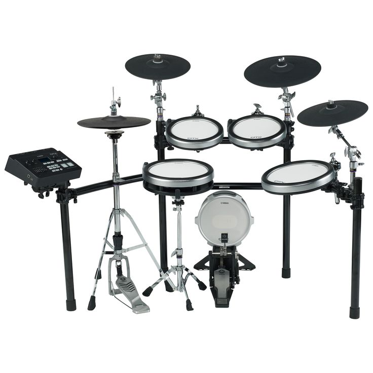Yamaha DTX760K Electronic Drum Set The DTX760K offers drummers the benefits and luxury of using all 3-zone DTX-PADs in a more affordable kit. Utilizing the same real hi-hat controller, and large 3-zon