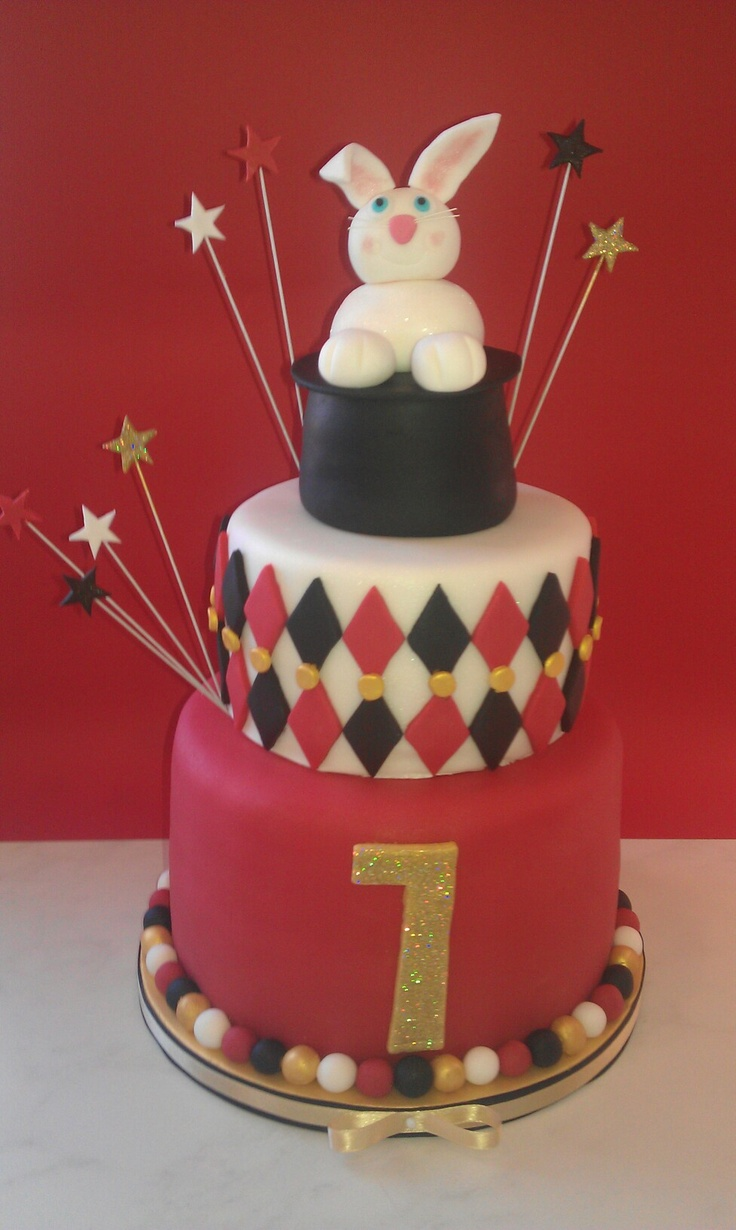 1000 Images About Magician Cake Ideas On Pinterest