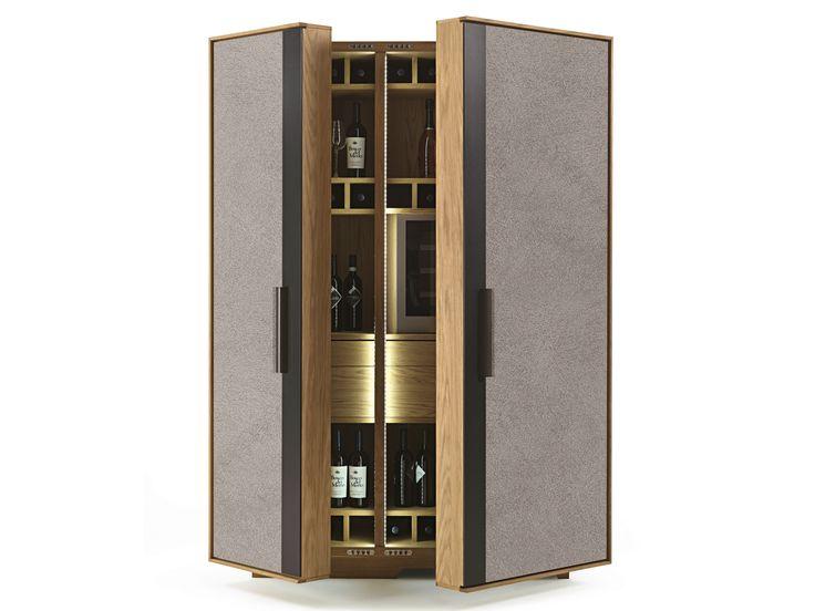 Cement Bar Cabinet CAMBUSA WINE JUMBO CONCRETE By Riva 1920 | Design  Giuliano Cappelletti