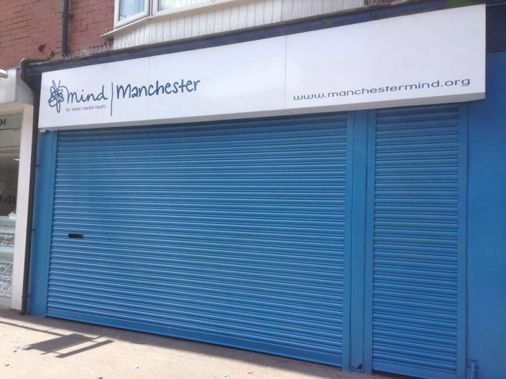 A roller shutter that was re-coated in Manchester recently. To see more visit http://www.vandacoatings.co.uk/ #rollershutter #spraypaint #paint #spray