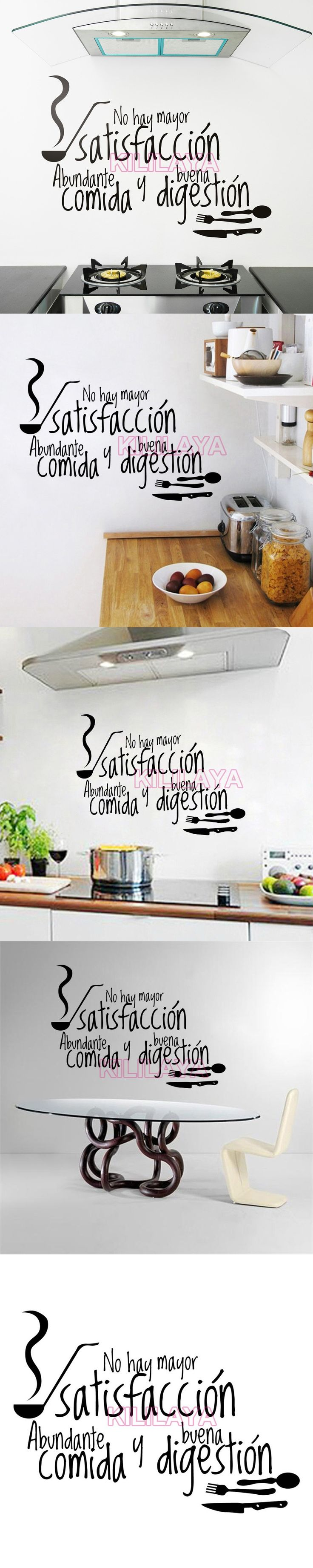 French Cuisine Stickers Vinyl Wall Tile Sticker Decals Mural Wall Art Wallpaper for Kitchen Home Decor House Decoration $11.5