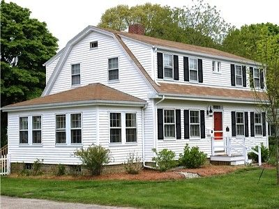99 best images about exteriors on pinterest exterior for Cape to colonial conversion plans