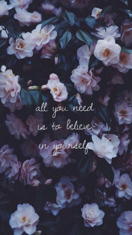 Sie brauchen nur an sich selbst zu glauben