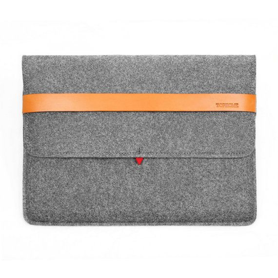 New Macbook Pro 13 Retina Wool Felt Sleeve Case Bag by TopHome