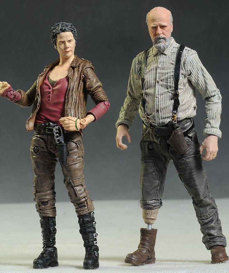 Walking Dead Carol & Herschel action figures by McFarlane Toys