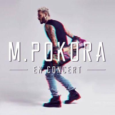 M. Pokora en concerts au Zénith de Paris en mars 2017