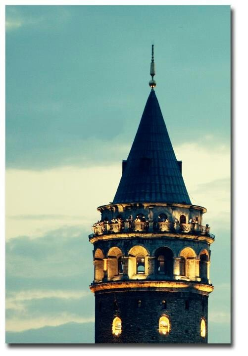 Galata Tower, just like a castle