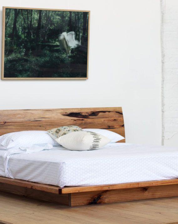 Sunrise Platform Bed - Recycled Timber Furniture Melbourne, Yard Furniture