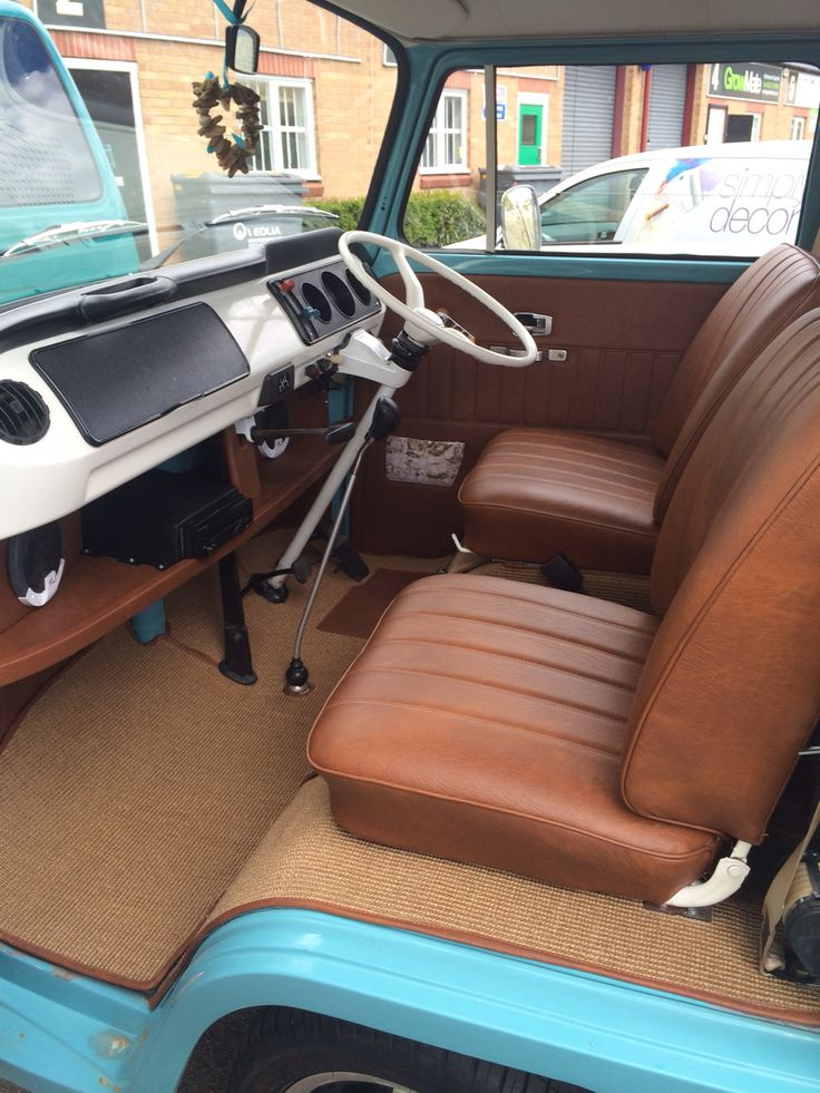 Vw t2 bay front cab interior
