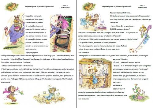 Tapuscrit : le petit ogre et la princesse Grenouille