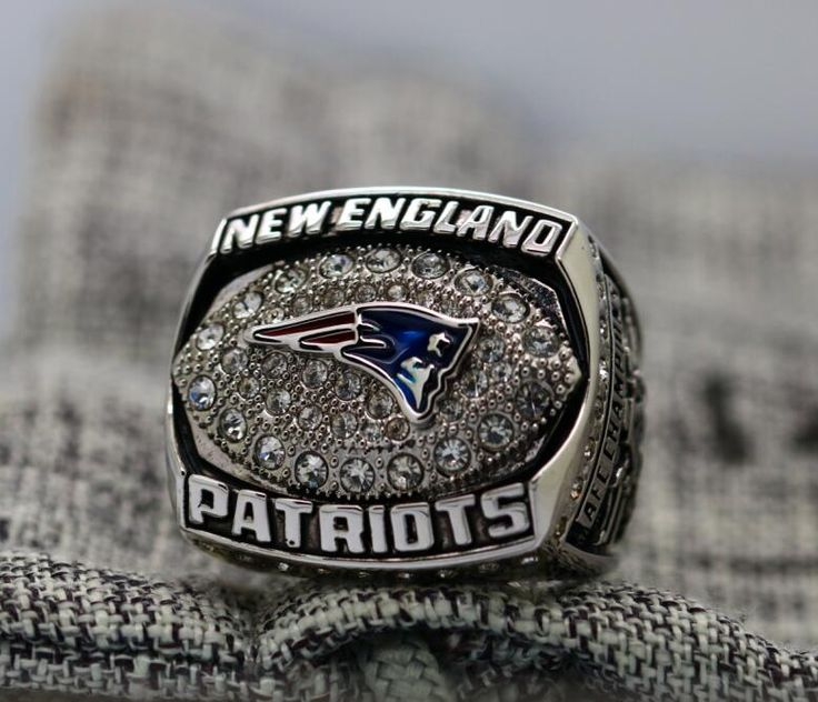 Patriots Logo engraved inside FOR Tom Brady 2007 New England Patriots NFC FOOTBALL Championship Ring 7-15 Size Copper